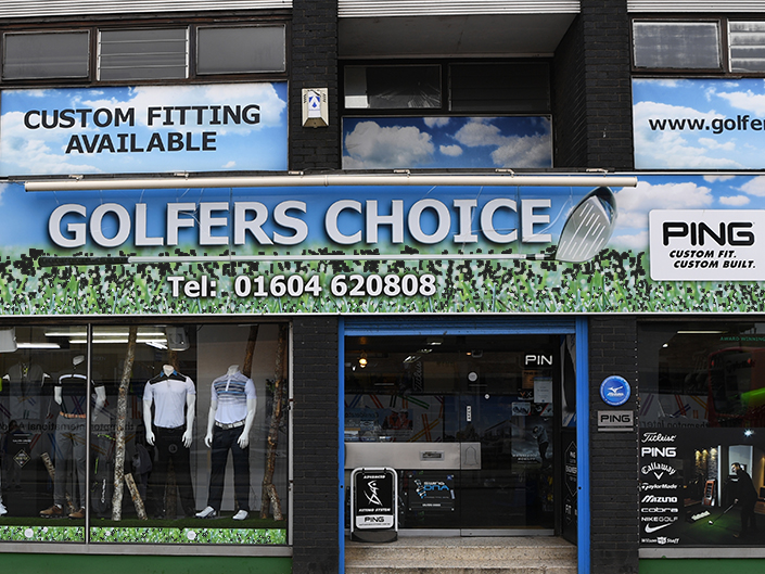 Golfers Choice Shop Front